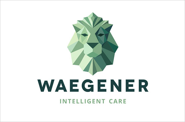 Waegener-Low-Polygonal-Logo-Design